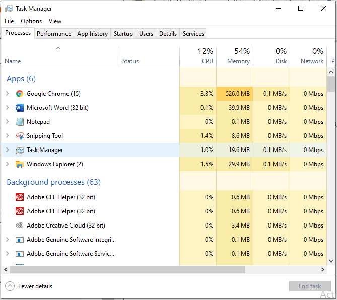 How To Tell Which Chrome Tab Is Using Memory using windows task manager