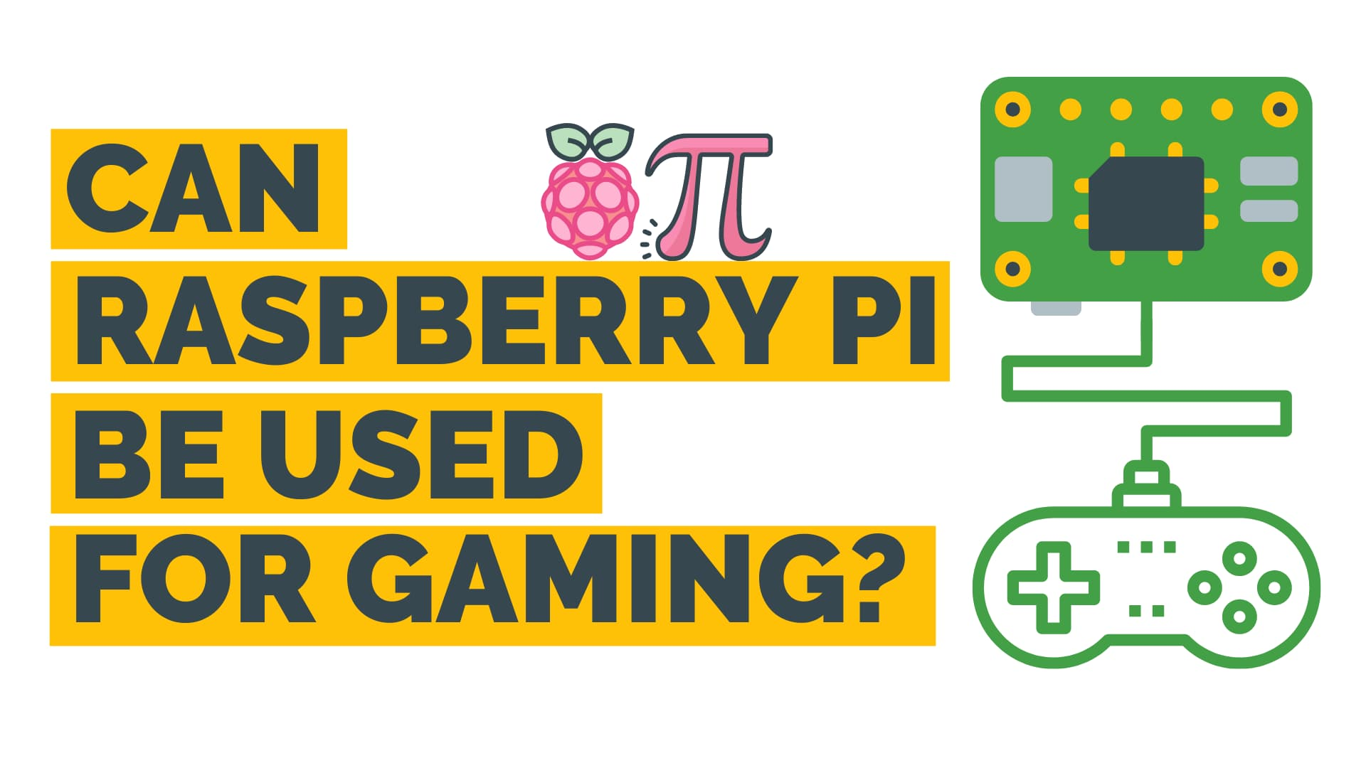 can raspberry pi be used for gaming