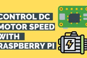 How To Control Speed Of A DC Motor Using Raspberry Pi And L293D?