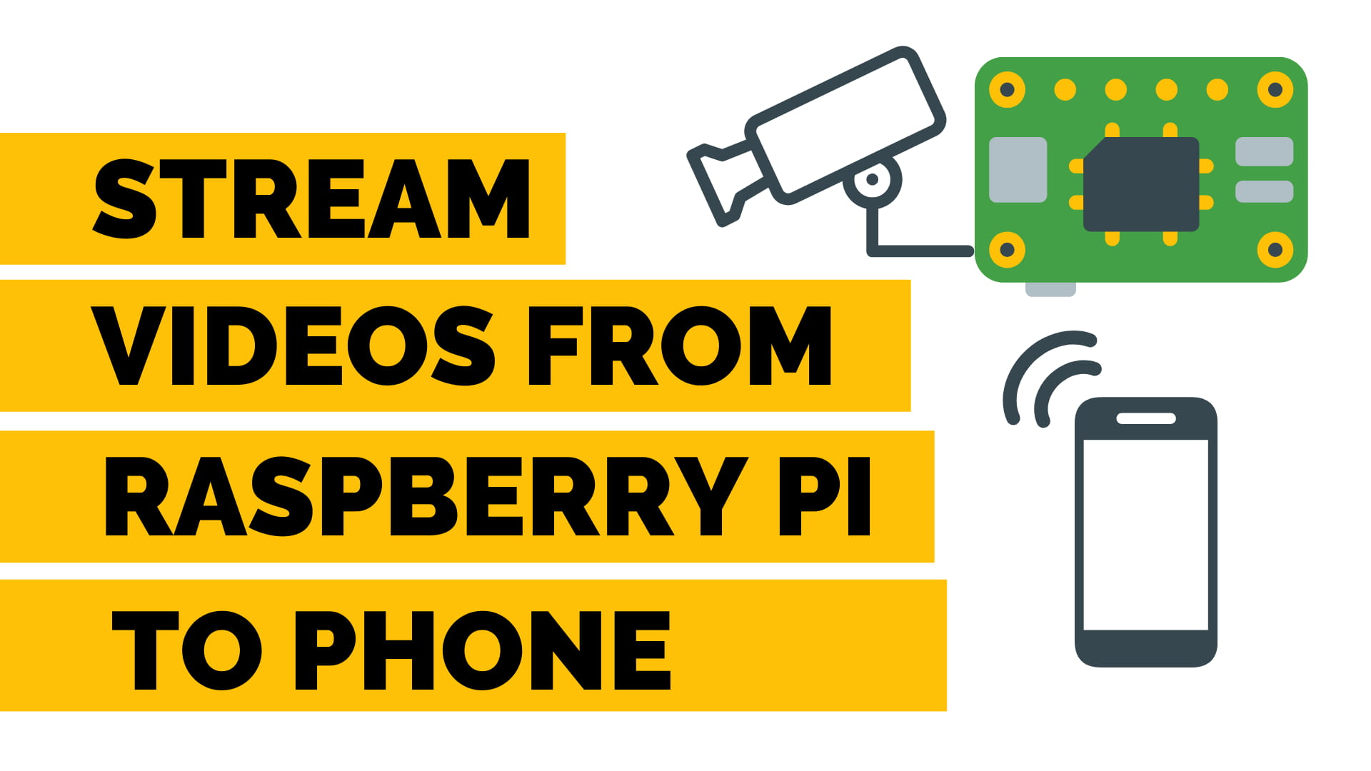 stream video from raspberry pi to phone